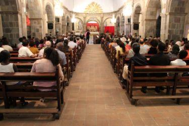 L'auditoire d ela cathédrale de Basse Terre