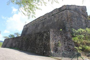 Le Fort Delgrès vu du Galion