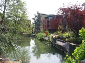 Le canal d'Oxford, construit au 18è siècle