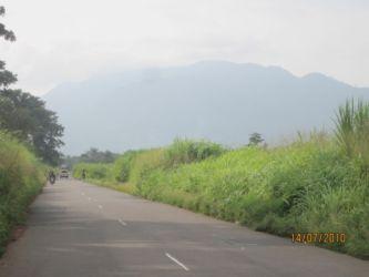 Le mont Agou sur la route Lomé-Kpalimé