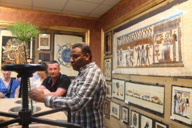 Le papyrus, symbole de la Haute Egypte