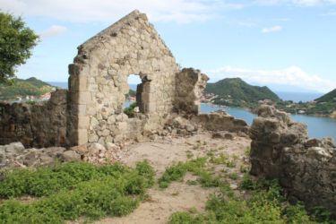 Les Saintes, vues depuis l'habitation Joséphine