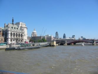 Londres, ancien et moderne, depuis la Tamise