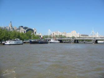 Londres vu de la Tamise