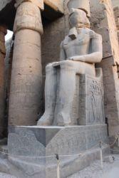 Louxor, colosse de RamsèsII