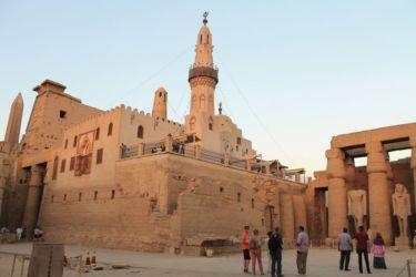Louxor, mosquée d'Aboul-Haggag Al-Oqsori