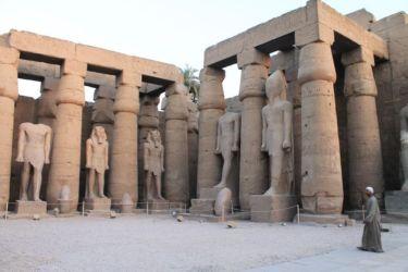 Louxor, première cour de Ramsès II