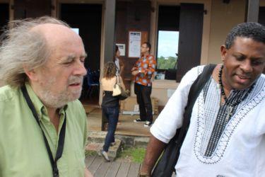 Marcel Dorigny et Jean-Philippe Omotundé