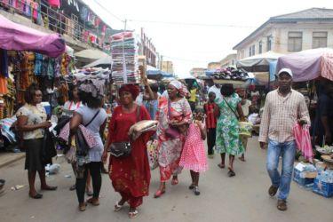 Marché e Lomé