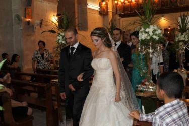 Mariage dans la chapelle du Castel Blanc (Safita)