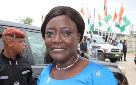Mariatou Koné, Ministre de la Femme, de la Protection de l'Enfant et de la Solidarité