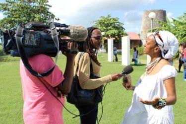 Marie-Line Dahomay interviewé