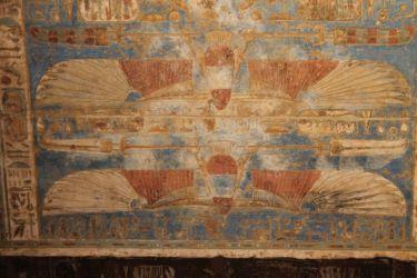 Medinet Habou, plafond avec Sekhbet