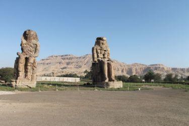 Mennon, colosses d'Amenhotep III