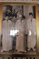 Mohamed V et ses deux fils