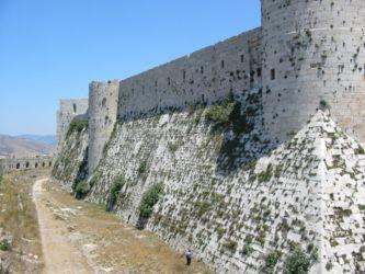 Mur d'enceinte interne (Krak des Chevaliers)
