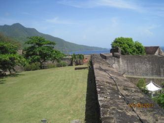 Muraille du Fort Delgrès