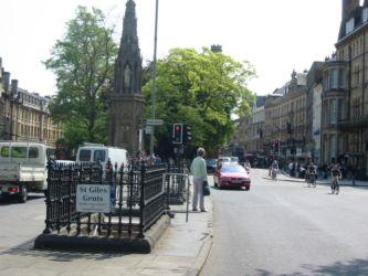 Oxford, quartier St Gilles