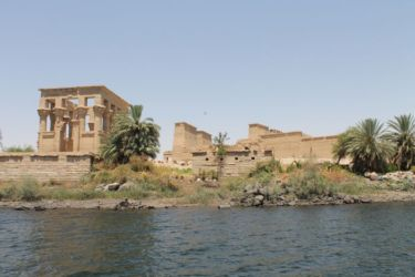 Philae, le temple et le kiosque