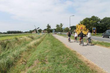 Piste cyclable à Middelburg