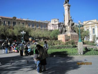 Place Murillo, La Paz
