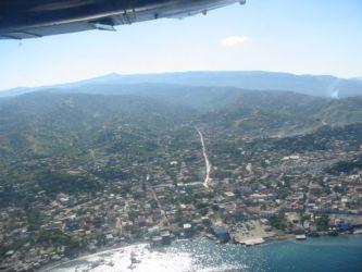 Port-de-Paix vu du ciel