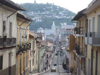 Quito, cerné par les montagnes