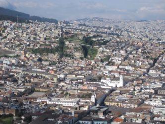 Quito vu du Panecillo