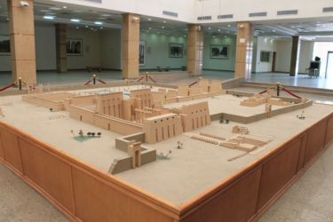 Reconstitution du temple de Karnak