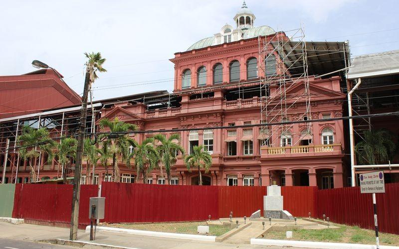 Trinidad 4/8 : Port-of-Spain ancien