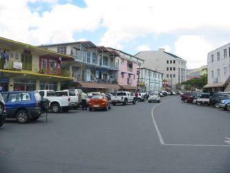 Road Town, capitale des Îles Vierges Britanniques
