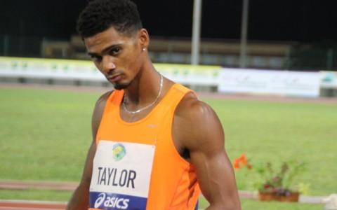 Ron TAYLOR (Usa) saut longueur 6è avec 7,50m
