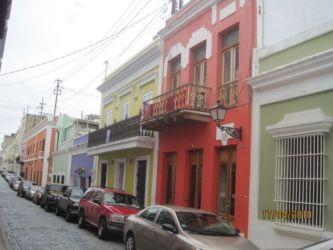 Rue colorée de San Juan