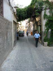 Rue de la chapelle d'Ananie (Damas)