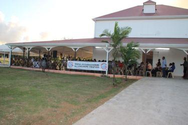 Salle des fêtes de Wonche (Baie Mahault)