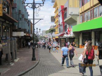 San José, centre ville