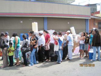 San José, distribution de cadeaux de Noël