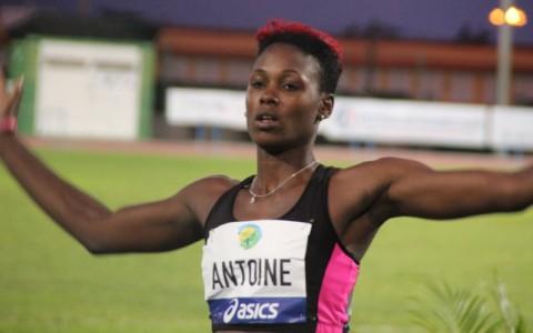 Sandisha ANTOINE (Ste Lucie) 6è au saut longueur
