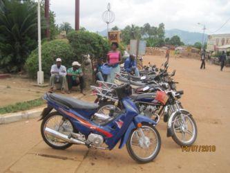 Taxis motos à Kpalimé