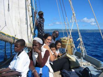 Traversée pour l'Île de la Tortue