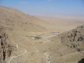 Un environnement semi-désertique