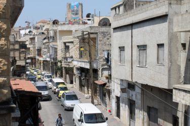 Une rue du centre de Safita