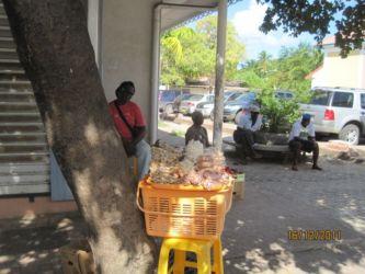 Vendeurs à Marigot