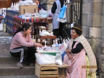 Vendeurs de La Paz