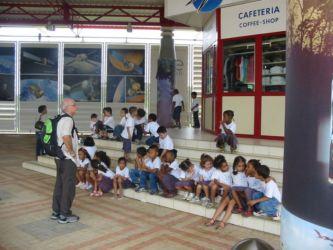 Viste des écoles à Kourou