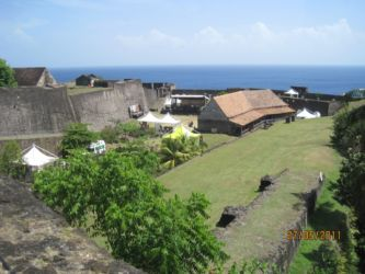 Vue d'ensemble du Fort Delgrès