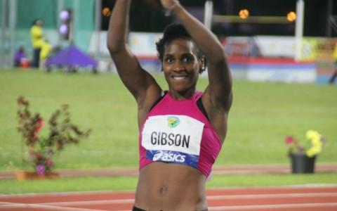 Whitney GIBSON (Usa) 4è saut en longueur