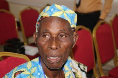 Chef Wanda, chef de canton de Gbokla (Sassandra)
