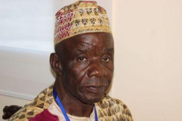 Diomandé Guamon, chef de canton de Touba