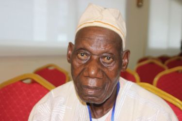 Dohohi Joseph, chef du village de Yaoudé